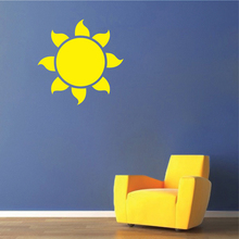 Sun Vinyl Wall Decal Stickers Quote Wall Sticker Baby Nursery Bedroom Wall Art Decor 3D Vinyl Decals Each Family Mural  SA790