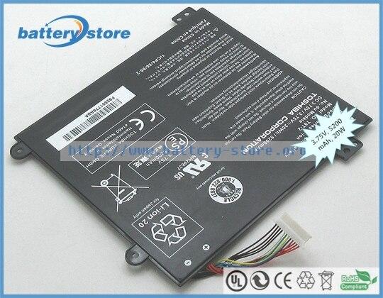 Methodisch Echte Nieuwe Laptop Batterijen Voor T8t-2, Satelliet Klik Mini L9w-b, A000381560, Mini L9w-b 8.9, T10tc, 3.75 V, 2 Cell Koop One Give One