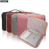 Jacodel Wapterproof 13 15 inch Laptop Briefcase Bag for Macbook Asus Dell HP Laptop Sleeve bag Women Laptop Messenger Bag Case