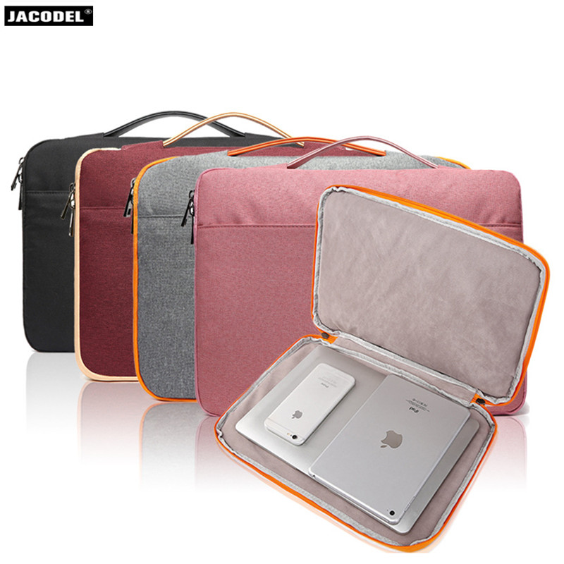 Jacodel Wapterproof 13 15 inch Laptop Briefcase Bag for Macbook Asus Dell HP Laptop Sleeve bag Women Laptop Messenger Bag Case