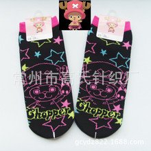 One piece Cartoon cosplay Socks Tony Choppe star  Cotton fashion Sock Women Unisex Socks New style Autumn And Winter Fashion