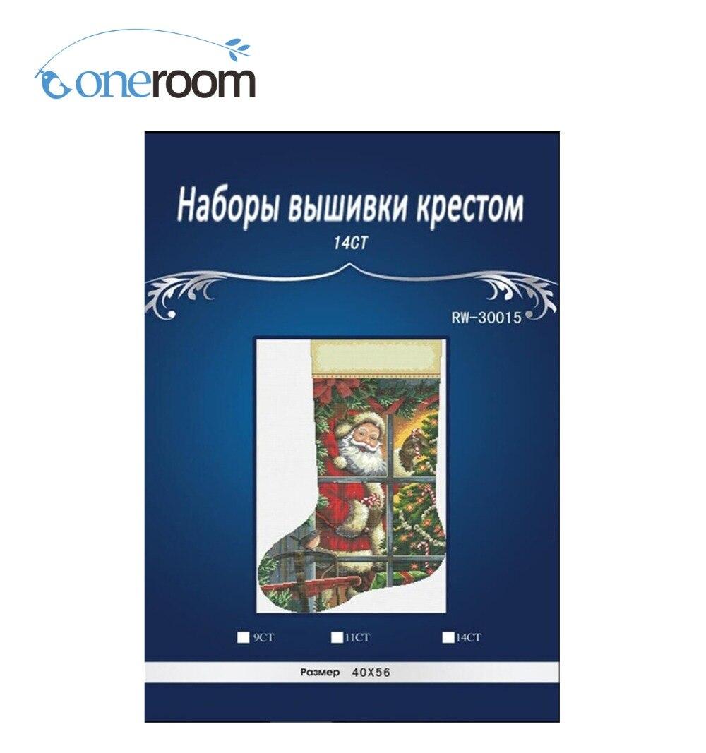 Oneroom Christmas MAN Sock Dimensions painting home Dekor počítané - Umění, řemesla a šití