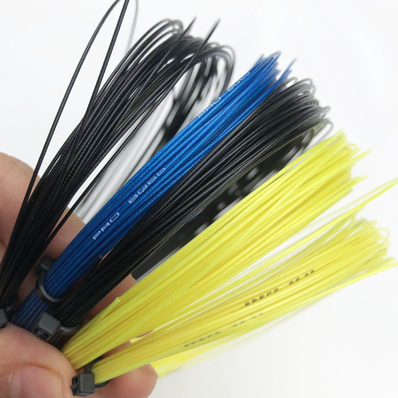 2pcs Retail Pro 65 Taiwan Badminton Racket Strings 0.70mm Bulk Badminton Strings
