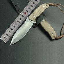 New MARS MADAM Full Tang Fixed Knife G10 Survival Hunting Knives Tactical Knife Made In Twaiwan