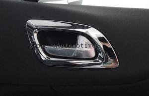 ABS Хромированная дверная внутренняя ручка, отделка 4 шт./компл. для 09 10 для CITROEN C4 C 4 2009 2010