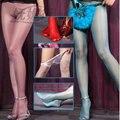 Ultrathin 10d transparent thin line hip toe T waist stealth sheer Tights Stockings sleek