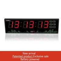 [GANXIN] на батарейках светодиодные часы обратного отсчета подсчитывает таймер секундомер часы Современный дизайн Смарт часы детская Сигнали