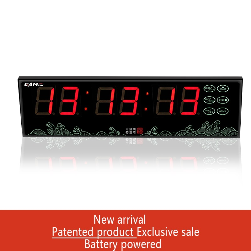 [GANXIN] battery powered led countdown count up timer stopwatch clock modern design smart clock child alarm clock