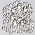 STZ (ss3/ss4/ss5/ss6/ss8/ss10) 1440 pcs Strass Cristal para Unhas Art Flat Voltar Não Hotfix Cola em Nail Art Decoração NRS01