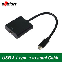 Free Shipping New USB 3 1 Type C Male To HDMI Female 1080P Display Monitor Adapter