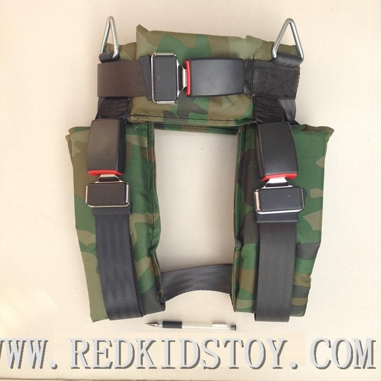 Haute Qualité Enfants Camouflage Harnais Élastique Trampoline Accessoires HZ-7707B