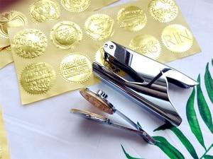 Image 5 - Stainless steel Embossing Stamp Custom Wedding Table Pliers Seal Custom Logo Stamp Leather