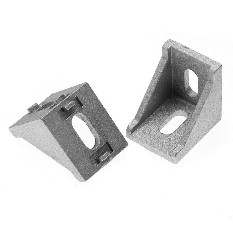 NEW 20Pcs 4040 Aluminum Corner Brackets Corner Fitting Angle 40 X 35 Connector Fastener For 4040
