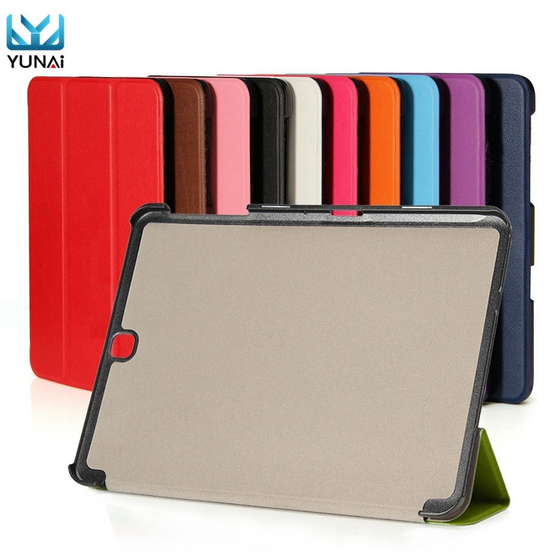 YUANI Folding Cover Case For Samsung For Galaxy Tab Tablet S2 T810 Fashion Tablet 9.7inch Smart Cover Case Stand For samsung