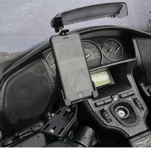 스즈키 버거 맨 125 400 650 스카이 웨이브 650 an400 gps 네비게이션 프레임 휴대 전화 네비게이션 브래킷 오토바이 액세서리