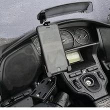 Armação de navegação por gps, para suzuki burgman 125 400 650 sky wave 650 an400, suporte para navegação de celular