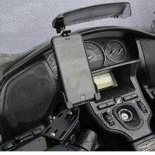 สำหรับ Suzuki Burgman 125 400 650 SKY WAVE 650 AN400 GPS นำทางกรอบโทรศัพท์มือถือยึดรถจักรยานยนต์อุปกรณ์เสริม
