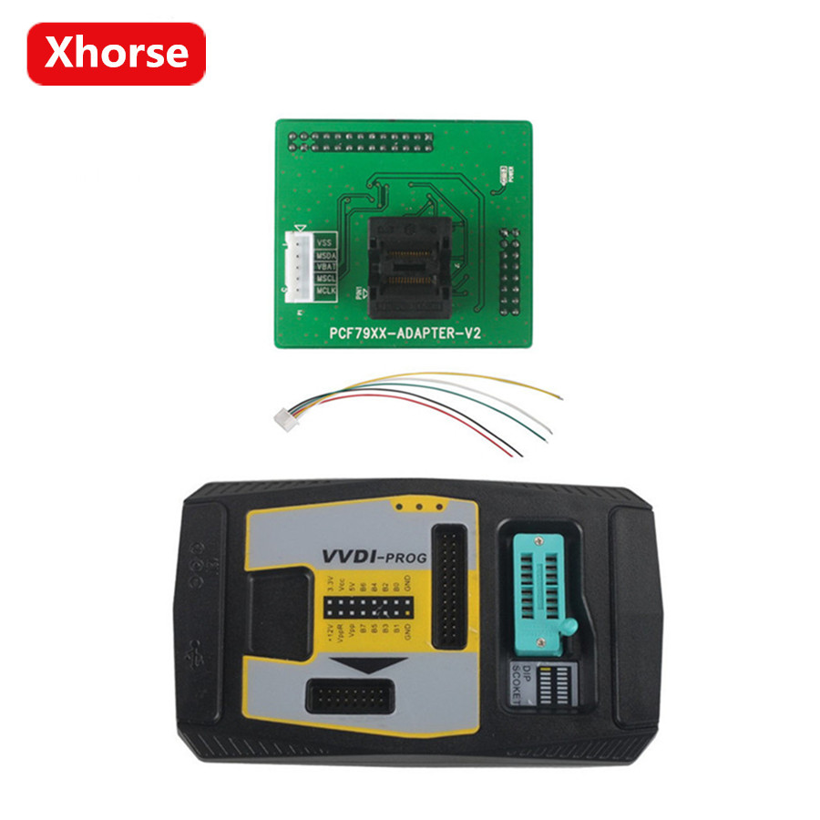 Xhorse PCF79XX Adapter) Support Multi-language (Can Choose V4.6.7 VVDI PROG Programmer