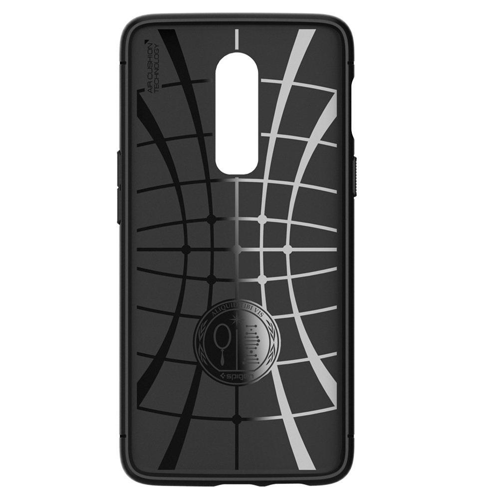 more photos 70207 ebf35 US $16.99  100% Original SPIGEN OnePlus 6 Case Rugged Armor Black  K06CS23358-in Fitted Cases from Cellphones & Telecommunications on  Aliexpress.com   ...