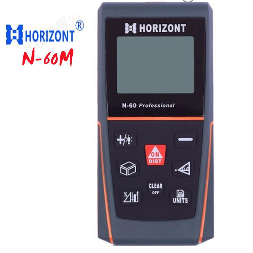 N-60 range finder, handheld Distance measuring tools ,Professional Pythagorean test tool Electronic ruler free shipping