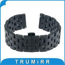 Libération rapide Bande 5 Pointeur Inoxydable Bracelet En Acier Bracelet pour Asus Zenwatch 1 2 22mm LG G Watch W100 W110 W150 Pebble temps