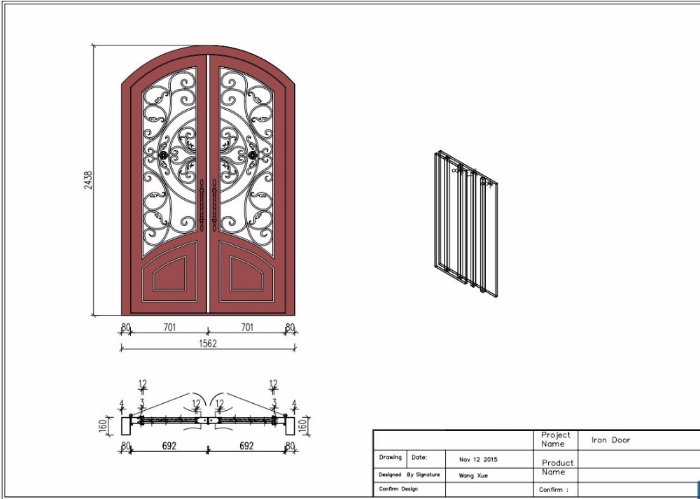 Escon Iron Doors Iron Door Saloon