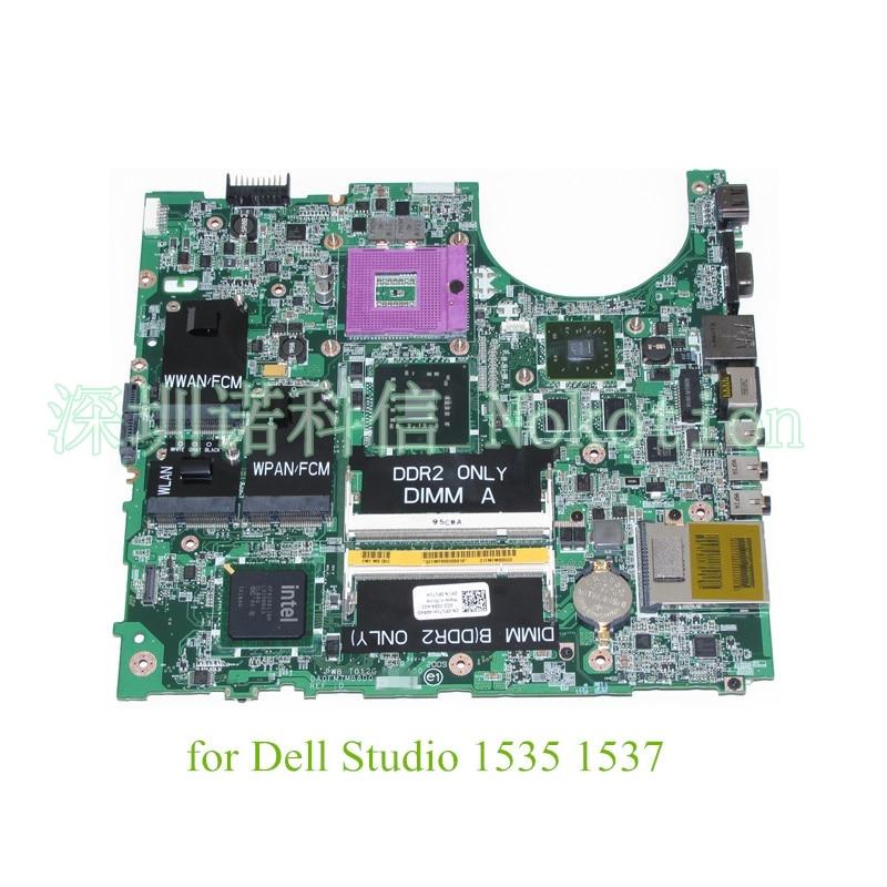 DA0FM7MB8D0 T012G CN-0P171H P171H For dell studio 1535 1537 laptop motherboard PM45 DDR2 ATI HD 3450 warranty 60 days