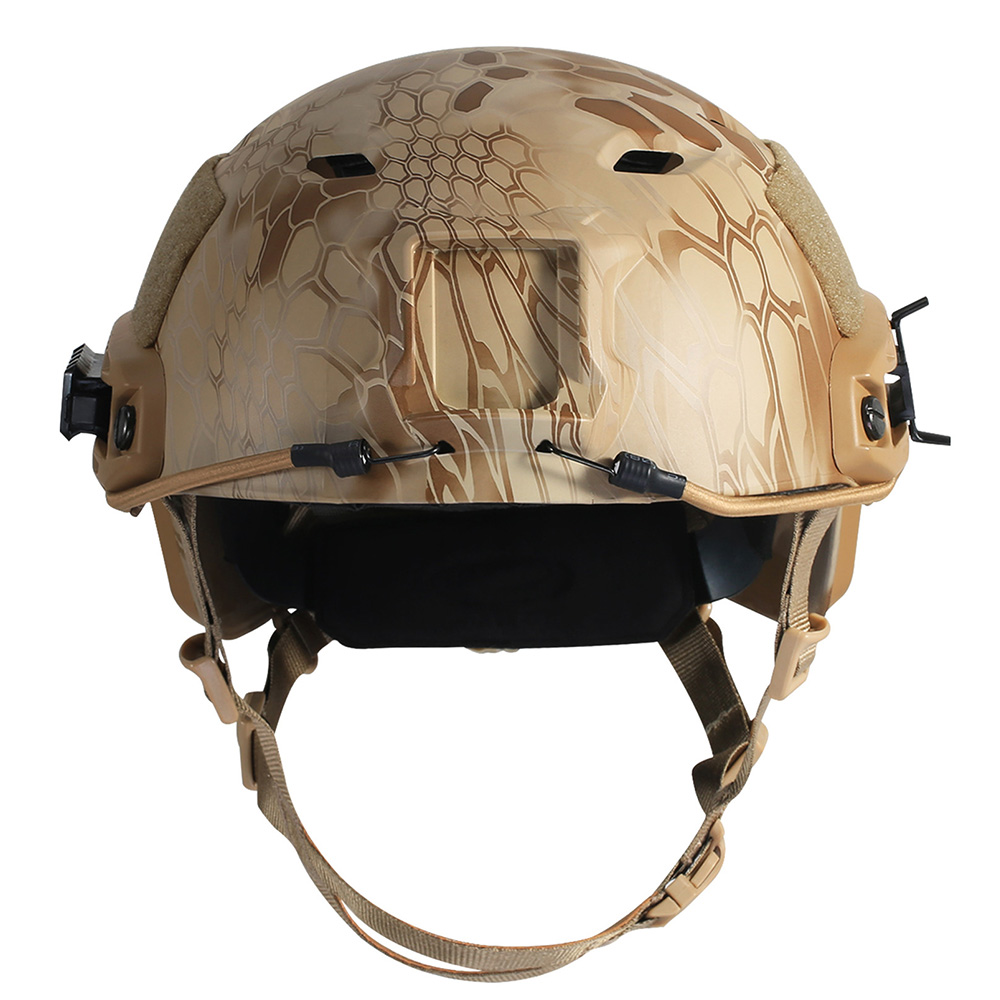 Military Tactical Camouflage Helmet Fast BJ with Night Vision Head Clamp Fits Sport Camera fast fixture clamp head packer horizontal jy203f203fl factory direct fast compactor