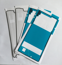 10sets(20pcs) New For Sony Xperia Z4 Back Cover + LCD Frame Waterproof Sticker Adhesive Glue Free Shipping