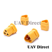 Wholse VERGAREN MT30 2mm 3-pin Connector/Motor connector/Plug Set voor RC Lipo Batterij RC model Quadcopter Multicopter(China)