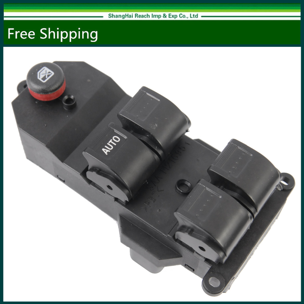 Hight quality black electric power window switch for honda for 2001 honda civic master power window switch