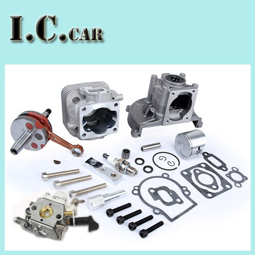 30 5CC 4 bolt engine set with 30 5CC cylinder 30 5cc crankshaft assembly ruixing spark