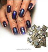12colors Set Magic Mirror Effect Nail Powder Chrome Pigment Powder Nail Glitters Nail Art Tool Mirror