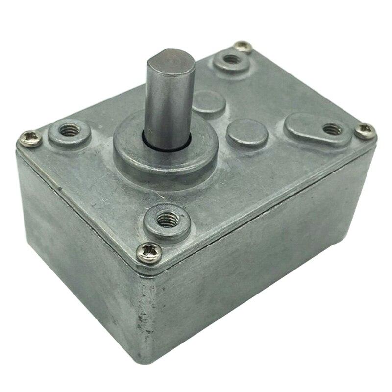 Metall Wurm Getriebe 17/31/50/100/290/505 Mit Vorwärts Und Rückwärts Rotation Getriebe funktion Verwenden Für DC 8300rpm Motor