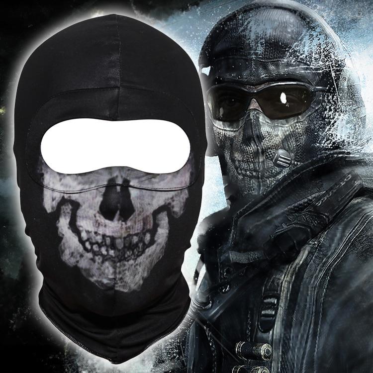 US Army Military Skull Mask Balaclava Hood
