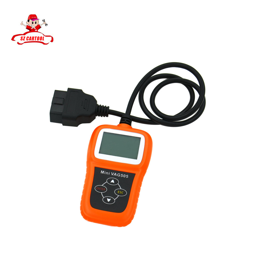 ФОТО Best quality  Mini VAG505 mini vag 505 Super Professional For VW/For AUDI Scanner with free shipping