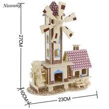 Nouveau Conte de Fées 3d jigsaw puzzle jouets en bois enfants adultes intelligence de jouets Bébé Enfants Cadeau en gros