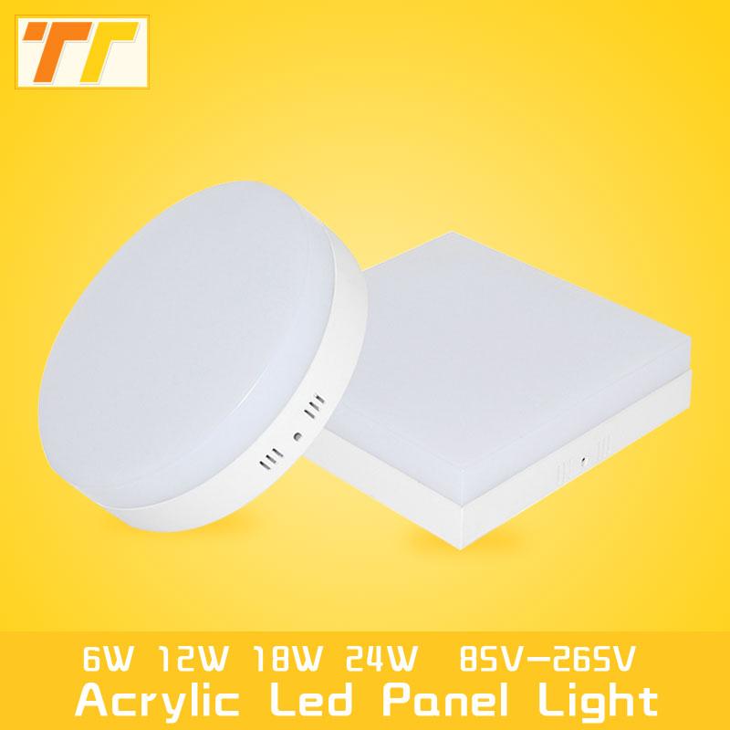 LED-panel Light Surface-monterad 12W 18W 24W LED Down Light Fyrkantig - LED-belysning