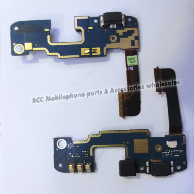 Dock Connector Charger Charging Port Cable for HTC Butterfly S 901S 901E 9060 Micro USB Dock + Mic Microphone Original