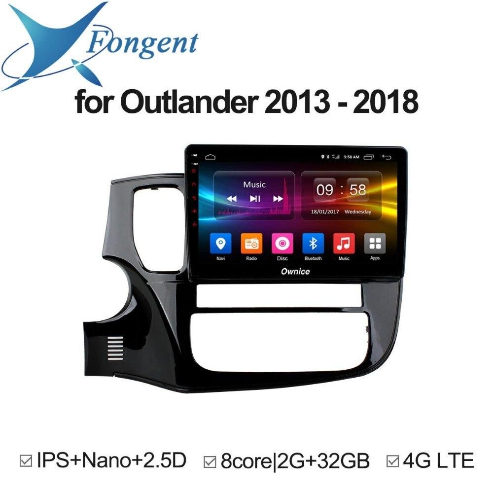 for Mitsubishi Outlander 2013 2014 2015 2016 2017 2018 Android Unit Car DVD GPS Navigator 1 2 Din Radio Multimdia Video Player