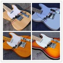 Versandkostenfrei gitarre ein Logo jede farbe e-gitarre maßgeschneiderte TL mahagoni gitarre viele Farben zur Auswahl