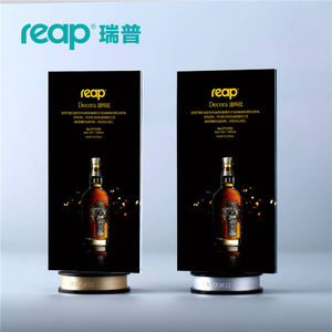 Image 1 - 5 pack Reap Decora PS T shape desk sign holder card display stand table menu service Label drink brand conference meeting