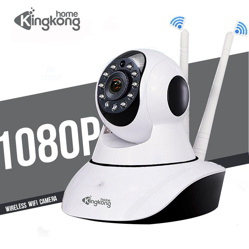 Kingkonghome Wi-fi Caméra 1080 p IP Sans Fil Caméra ip Smart Security PTZ Caméras de Surveillance De Nuit Vision mini Caméra sans fil