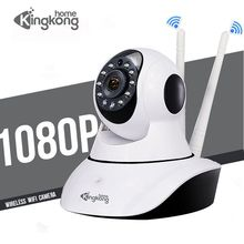 Kingkonghome Wi-fi Camera 1080P IP Wireless Camera ip Security Smart PTZ Surveillance Cameras Night Vision mini wireless Camera