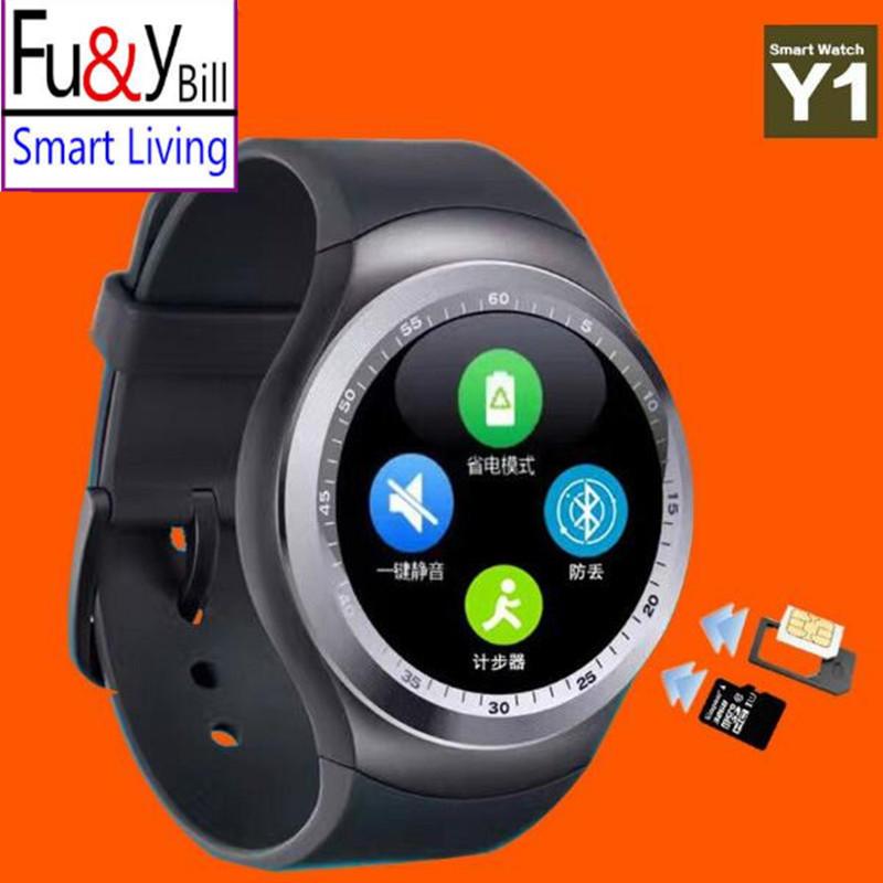 New Fashion Y1 Smart Watch Support SIM Card and TF Card with Whatsapp and Facebook amp