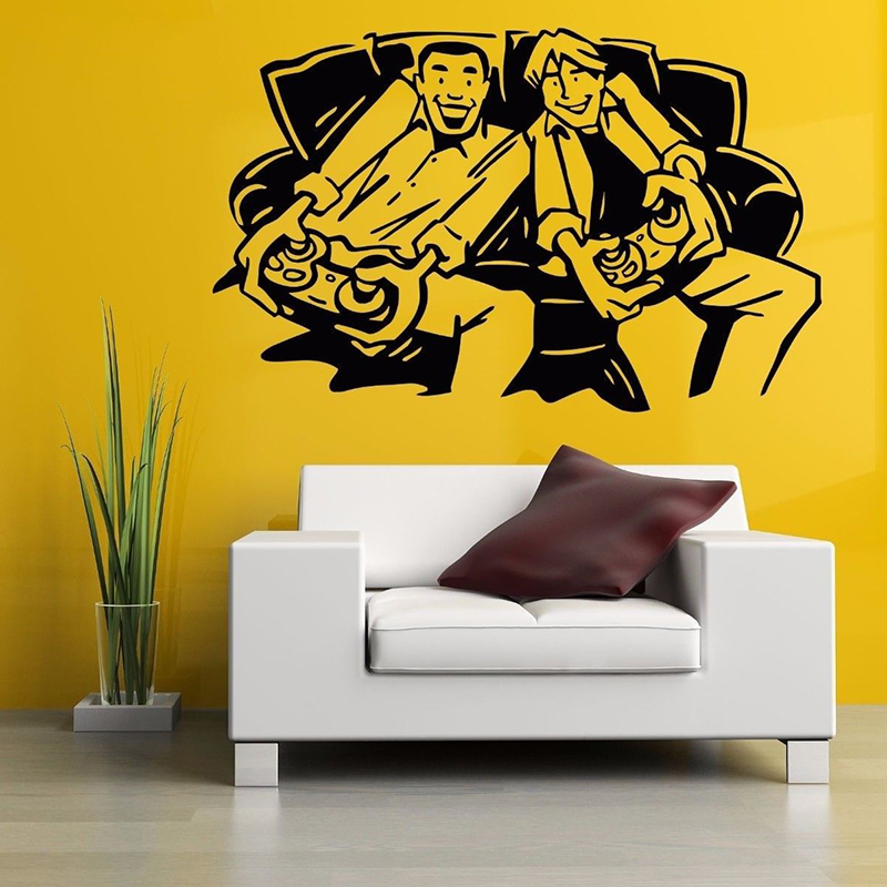 Personality Wall Room Decor Art Vinyl Sticker Mural Decal Gamer Video Game Poster