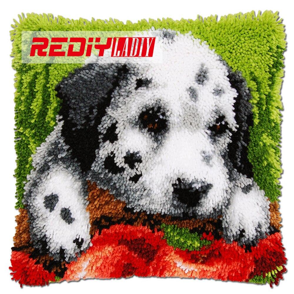 Rediy Ladiy Knoopkussen Kits Dieren Puppy Met Apple Kussen Haken
