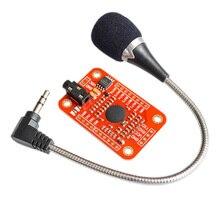1 set Modulo di Riconoscimento Vocale V3 per Arduino Compatibile Con Riconoscimento vocale # Hbm0372