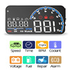 EANOP sBright 3 0 Car HUD Head up display OBD II EUOBD Computer Speedometer hud film Car electronics Overspeed Voltage Alarm promo