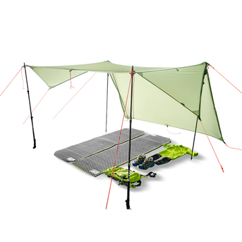 FLAME'S CREED Double Side Silicon Coated Ultra-light 20D Nylon Outdoor Tarp Shelter Professional Beach Awning Oudoor Rainfly 1